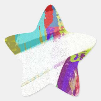música, decoración del piano (18) pegatinas forma de estrella