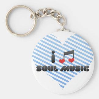 Música del alma llaveros personalizados