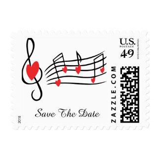 Música del amor sello