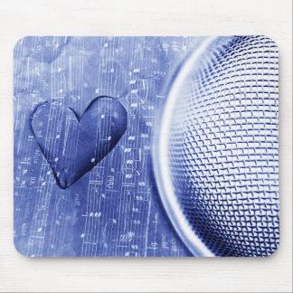 Música del amor tapete de raton