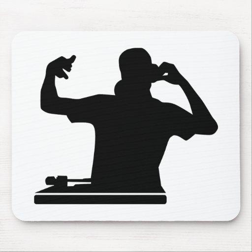 Música del club de las placas giratorias de DJ Alfombrilla De Ratones