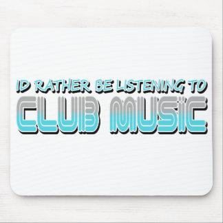Música del club tapete de ratones