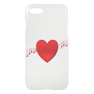 Música del corazón funda para iPhone 7
