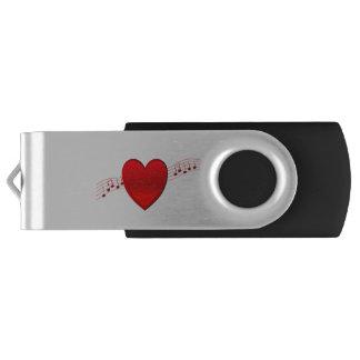Música del corazón memoria USB