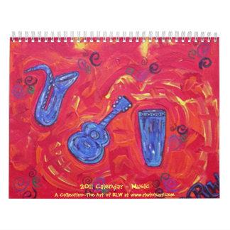 Música del ~ de 2014 calendarios
