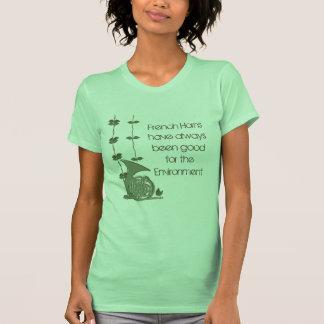 Música del encanto del arbolado camisetas