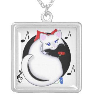 Música del gatito de Bianca Toon y collar de las f