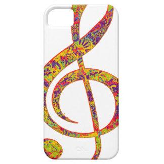 Música del Hippie iPhone 5 Carcasa