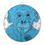 Música del mono tablero de dardos