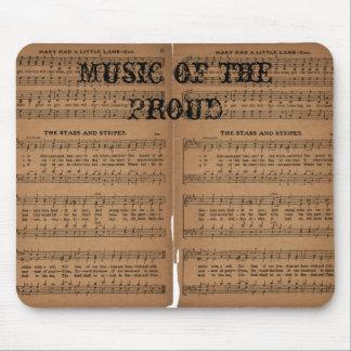 Música del orgulloso alfombrillas de raton