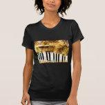 Música del piano camiseta