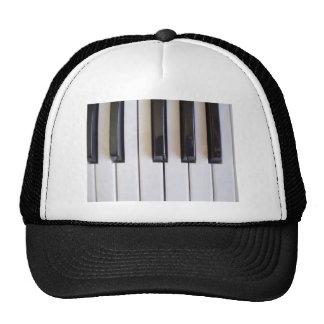 Música del piano gorra