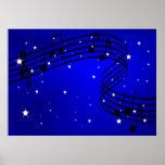 Música del poster de la noche