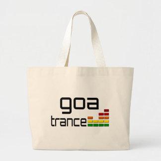 Música del trance de Goa con el equalizador estére Bolsa