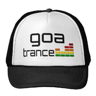 Música del trance de Goa con el equalizador estére Gorras De Camionero