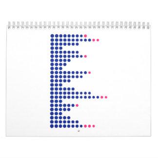 Música DJ del equalizador Calendarios De Pared