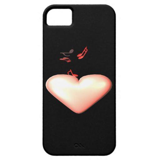Música dulce iPhone 5 Case-Mate cobertura