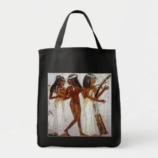 Música egipcia antigua bolsa tela para la compra
