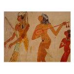 Música egipcia antigua postales