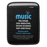 Música: El otro no adictivo, humor-alterando… Funda Para iPads