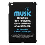 Música: El otro no adictivo, humor-alterando… iPad Mini Funda