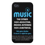 Música: El otro no adictivo, humor-alterando… iPhone 4 Cárcasas