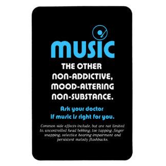 Música: El otro no adictivo, humor-alterando… Imán Rectangular