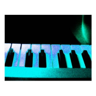Música electrónica 3 postal