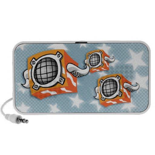 Música en el aire iPod altavoz