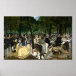 Música en el jardín de Tuileries - Eduardo Manet