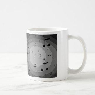 Música en la taza del arte de aire