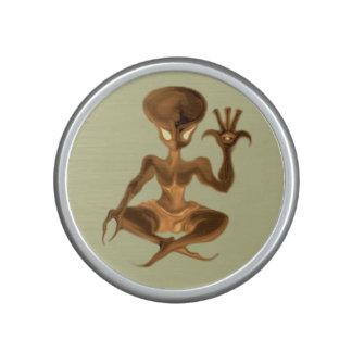 música extranjera 021 de la meditación altavoz con bluetooth