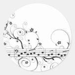 Música florida etiqueta