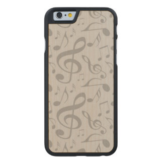 Música Funda De iPhone 6 Carved® Slim De Arce