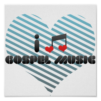 Música gospel posters