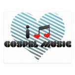 Música gospel postal
