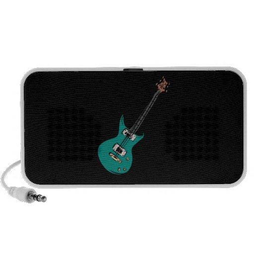 música graphic.png de la guitarra eléctrica del tr notebook altavoz