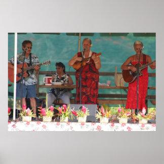 Música hawaiana posters