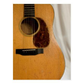 Música hermosa--Abuelo Martin Tarjeta Postal