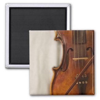 Música hermosa--Violín Imán Cuadrado