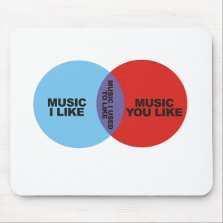 Música i usado para tener gusto alfombrilla de ratón