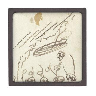 Música II de la calle de Theo van Doesburg Caja De Recuerdo De Calidad