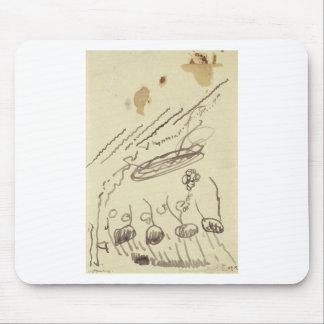 Música II de la calle de Theo van Doesburg Mouse Pads