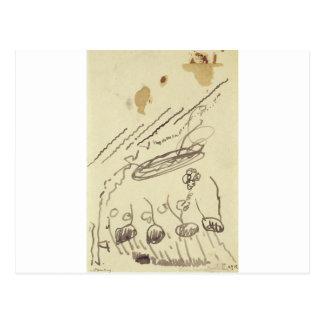 Música II de la calle de Theo van Doesburg Tarjetas Postales