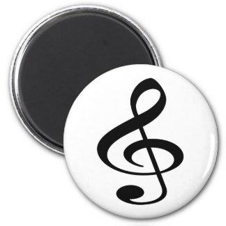 Música Imán Redondo 5 Cm