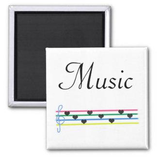 Música Imán Cuadrado