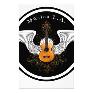 Musica LA Acoustic Logo Stationery