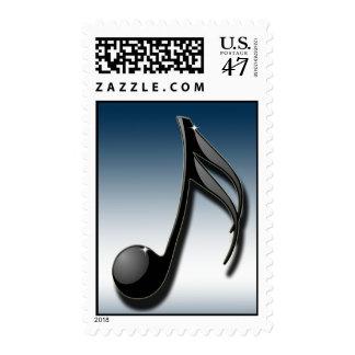 Música: La lengua universal Timbres Postales