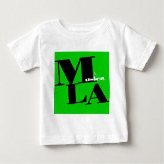 Musica LA Logo- green Baby T-Shirt
