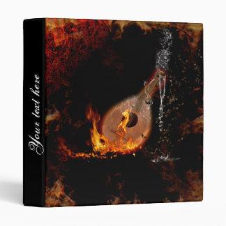 """Música, laúd con el fuego y descensos del agua carpeta 1"""""""